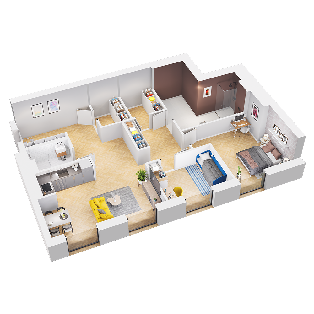 Mieszkanie 100 / 100