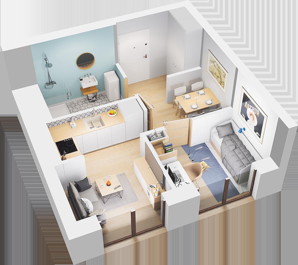 Mieszkanie 46