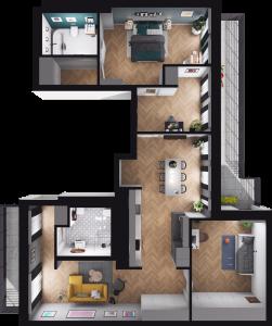 Mieszkanie 32 / 43