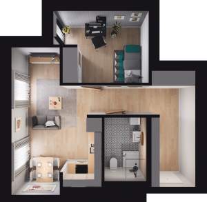 Mieszkanie 43 / 76