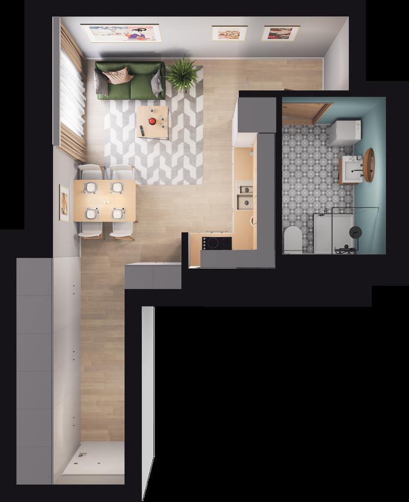 Mieszkanie 47 / 71