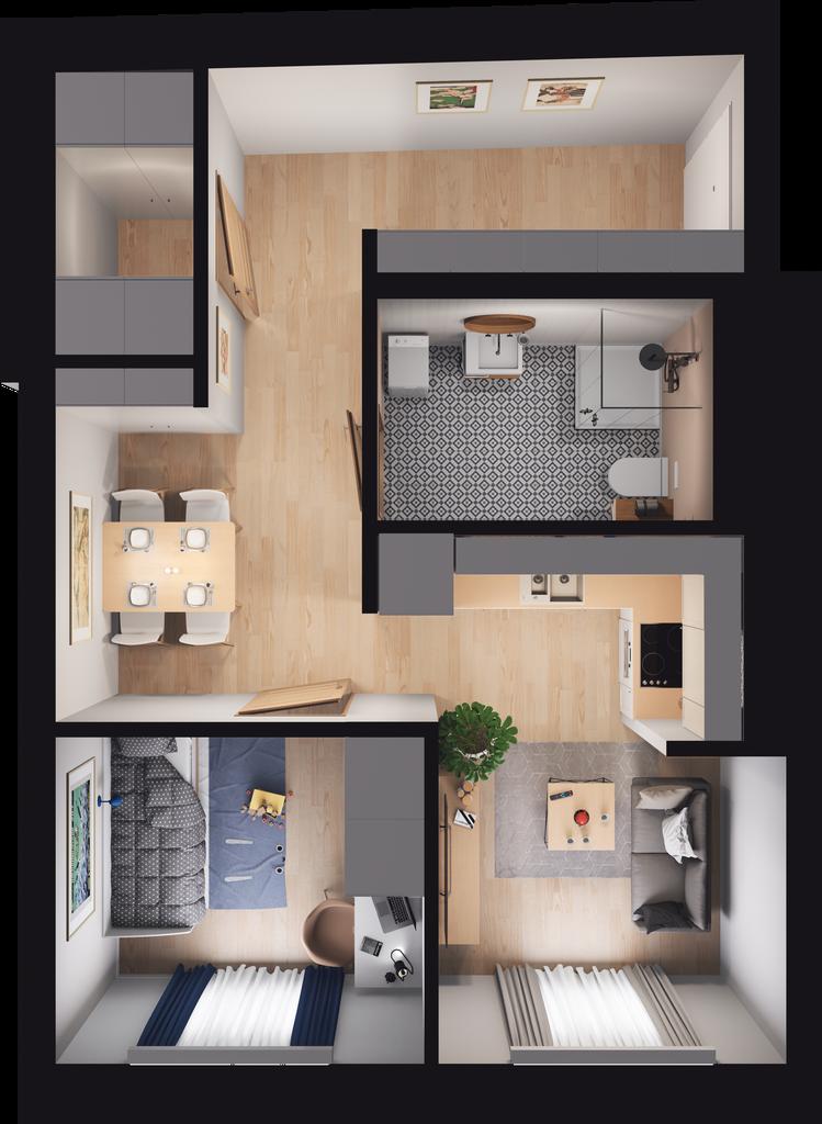 Mieszkanie 59 / 53
