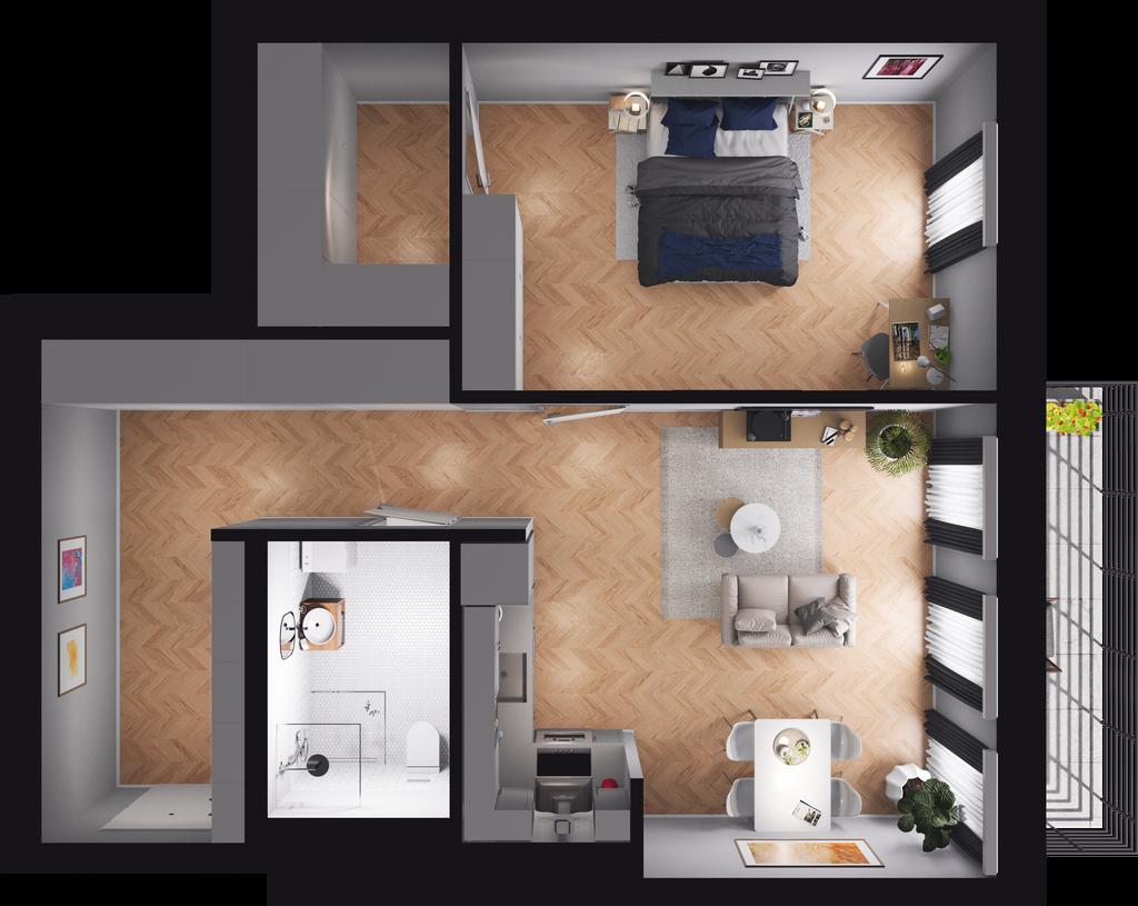 Mieszkanie 62 / 56