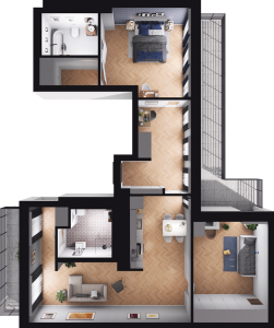 Mieszkanie 65