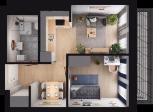 Mieszkanie 67 / 32
