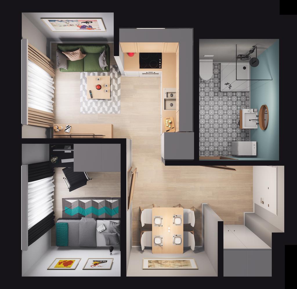 Mieszkanie 77 / 87