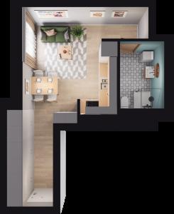 Mieszkanie 80 / 83