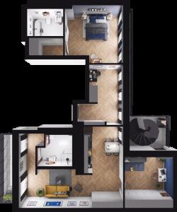 Mieszkanie 90
