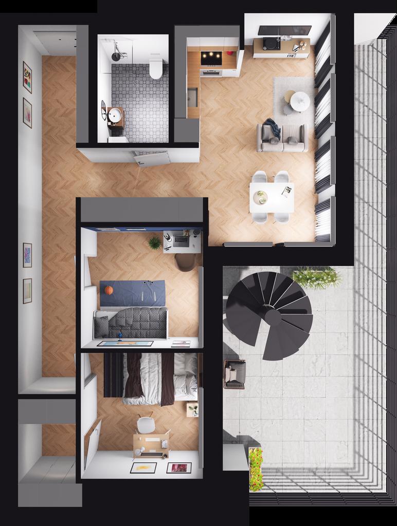 Mieszkanie 92 / 37