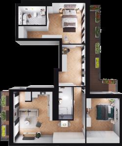 Mieszkanie 65 / 50